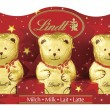 472726 - Lindt Mini Teddy 5pk 50g