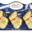 474029 - Lindt Mini Santa & 4 Reindeers 50g