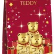 611170 - Lindt Mini Teddy Pouch Bag 80g