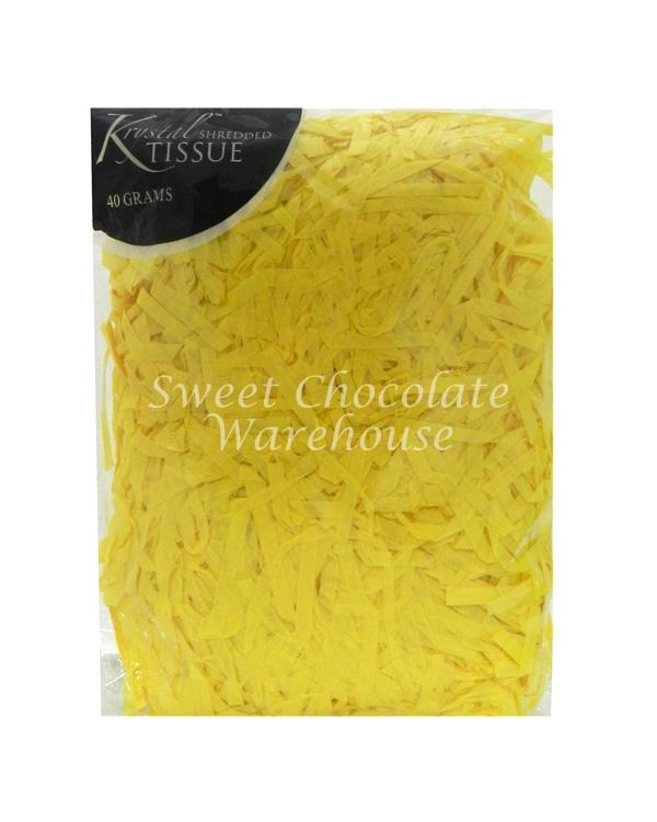 Yellow Tissue Shred