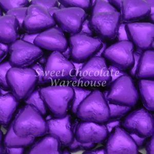 Chocolate Hearts - Purple