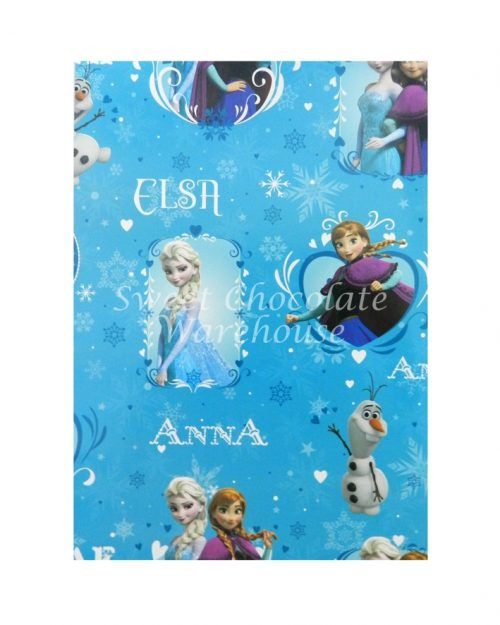 frozen-wrapping-paper