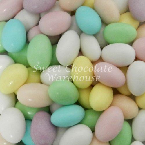 assorted sugared almonds