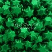 chocolate-stars-green