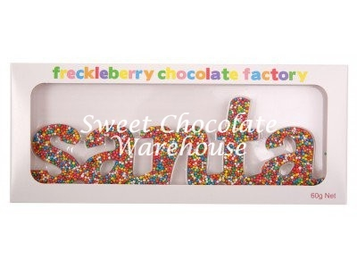 Freckle Santa word