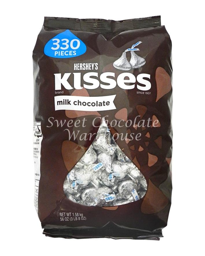Hershey's Kisses Milk Chocolate 330 Pieces – Best Before ...