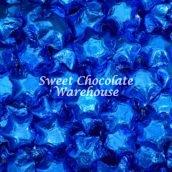 Blue Milk Chocolate Stars