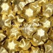Gold Milk Chocolate Stars