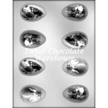 Egg Decorated chocolate mould
