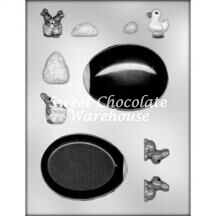 Egg Panoramic chocolate mould