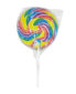 Rainbow lollipop 200g