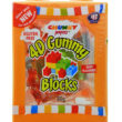 4D Gummy Blocks Assorted Colours 80g