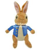Peter Rabbit Blue Jacket Gold Stitched Buttons 22cm
